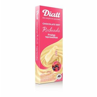 Chocolate Diatt Branco Com Frutas Vermelhas 25g