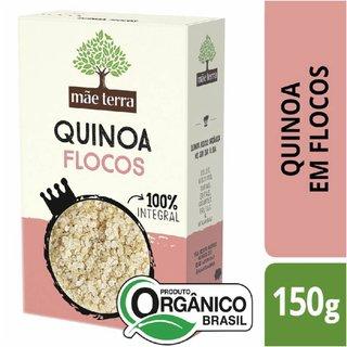 Quinoa Em Flocos 100% Integral Orgânica Mãe Terra Caixa 150g