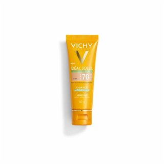 Protetor Solar Vichy Ideal Soleil Purify Clara Fps70 Toque Seco Antioleosidade 40g