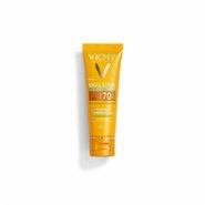 Protetor Solar Vichy Ideal Soleil Purify Médio Fps70 Toque Seco Antioleosidade 40g