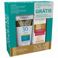 Kit Protetor L'oréal Supreme Protect 4 Fps30 120ml Grátis Facial Solar Expertise Antirrugas Fps30 25