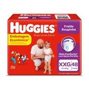 Fralda Huggies Supreme Care Hiper Roupinha Xxg Com 48 Unidades