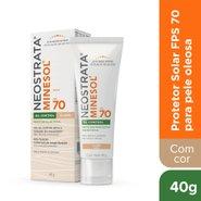 Protetor Solar Facial Neostrata Minesol Oil Control Fps 70 Pele Clara 40g