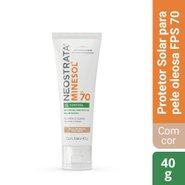 Protetor Solar Facial Neostrata Minesol Oil Control Fps 70 Pele Morena 40g