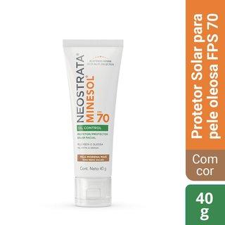 Protetor Solar Facial Neostrata Minesol Oil Control Fps 70 Pele Morena Mais 40g