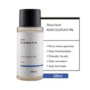 Tônico Ácido Glicólico 7% Panvel Dermativ 200ml