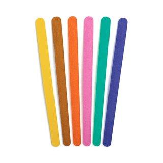 Lixa Unhas Panvel Coloridas 6 Unidades