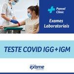 Teste Covid-19 Igg + Igm Grupo Exame