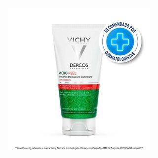 Shampoo Esfoliante Vichy Dercos Micropeel Anticaspa 150ml