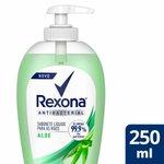 Sabonete Líquido Rexona Antibacterial Aloe Para As Mãos 250ml