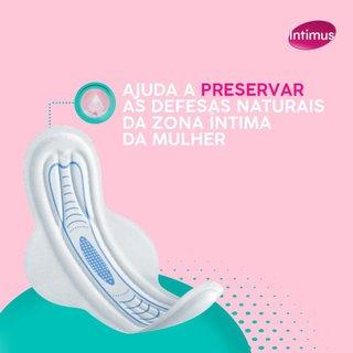 Absorvente Intimus Ultrafino Antibacteriano Com Abas Com 14 Unidades