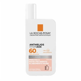 Protetor Solar Anti-idade La Roche Posay Anthelios Hydraox Fps60 Com Cor 50ml