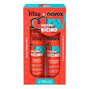 Kit Novex Doctor Rícino Shampoo + Condicionador 300ml