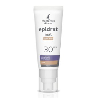 Hidratante Facial Epidrat Mat Fps30 Cor Clara 40ml