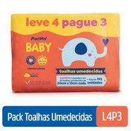 Lenços Umedecidos Panvel Baby Leve 4 Pague 3 Com 48 Unidades Cada