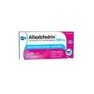Allexofedrin 180mg 10 Comprimidos Revestidos