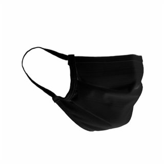 Máscara De Tecido Preta Stay Safe