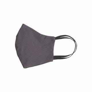Máscara De Proteção Panvel De Tecido Tricoline Duplo Cinza M