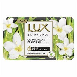 Sabonete Barra Lux Botanicals Com Oleos Hidraflorais Capim Limao E Frangipani 85g