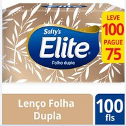 Lenco Papel Elite Folha Dupla Leve 100 Pague 75
