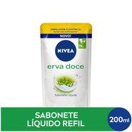 Sabonete Liquido Nivea Erva Doce Refil 200 Ml