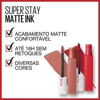 Batom Líquido Superstay Matte Ink Maybelline Revolutionary 5ml