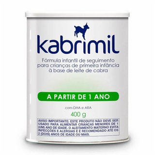 Formula Infantil De Seguimento Kabrimil 400g