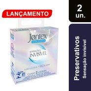 Preservativo Jontex Sensação Invisivel Com 2 Unidades