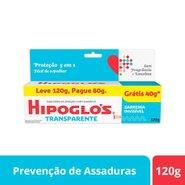 Creme Preventivo Para Assaduras Hipoglós Transparente 120g