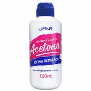 Acetona Lifar 100ml Nova Formula