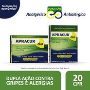 Apracur Duo 20 Comprimidos