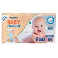 Fralda Panvel Baby Premium Sec M Com 50 Unidades