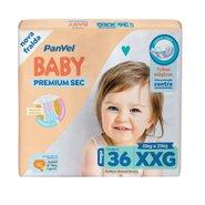 Fralda Panvel Baby Premium Sec Xxg Com 36 Unidades