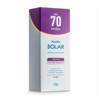 Protetor Solar Facial Panvel Solar Fps70 50g