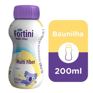 Fortini Multi Fiber Baunilha 200ml