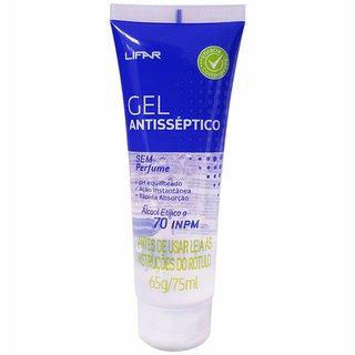 Gel Antisseptico Lifar Sem Perfume 75ml