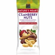 Snack Natures Heart Cranberry Nuts 25g