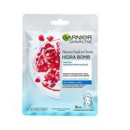 Máscara Facial Garnier Skinactive Revitalizante Hidra Bomb Romã 28g