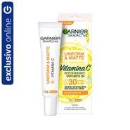 Hidratante Facial Garnier Skinactive Uniform & Matte Vitamina C Fps 30 15g