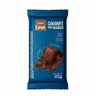Chocolate Meio Amargo Panvel Leve 22g