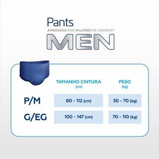 Roupa Íntima Tena Pants Men P/m 8 Unidades