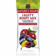 Snack Natures Heart Fruity Berry Mix 25g