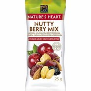 Snack Natures Heart Nutty Berry Mix 25g