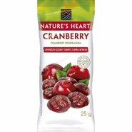 Snack Natures Heart Cranberry 25g
