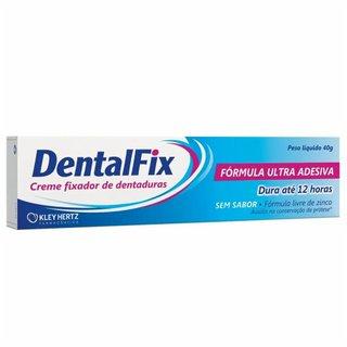 Creme Fixador De Dentaduras Dentalfix Sem Sabor 40g