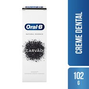 Creme Dental Oral-b 3d White Whitening Therapy Purification Charcoal 102g