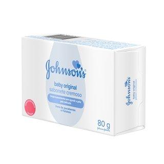 Sabonete Em Barra Johnson's® Baby Original 80 G