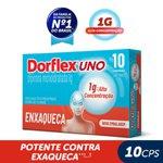 Analgésico Dorflex Uno Enxaqueca 1g 10 Comprimidos