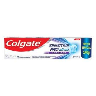 Creme Dental Colgate Sensitive Pró-alivio Regular 140g