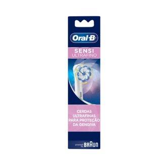 Refil Para Escova Elétrica Oral-b Sensi Ultrafino Com 2 Unidades